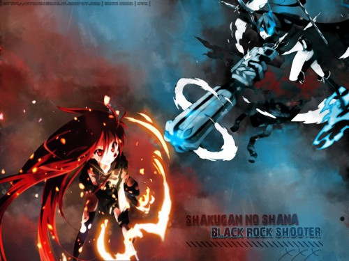 Noizi Ito, huke, Black Rock Shooter, Shakugan no Shana, Black Rock Shooter (Character) Wallpaper