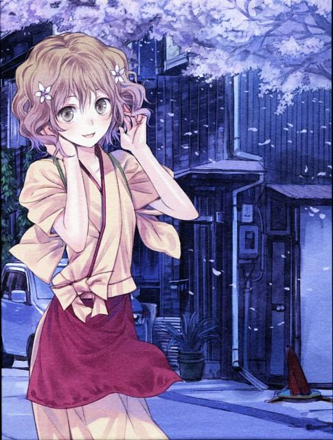 Mel Kishida, Hanasaku Iroha, Ohana Matsumae, DVD Cover