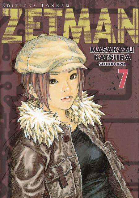 Masakazu Katsura, TMS Entertainment, Zetman, Manga Cover