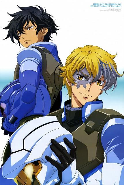 Michinori Chiba, Sunrise (Studio), Mobile Suit Gundam 00, Graham Aker, Setsuna F. Seiei