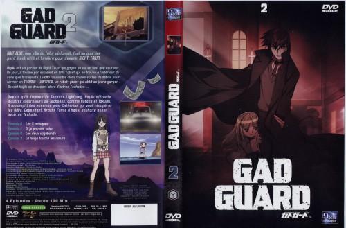 Gonzo, GAD Guard, Katana (Gad Gaurd), Sayuri (Gad Guard), DVD Cover