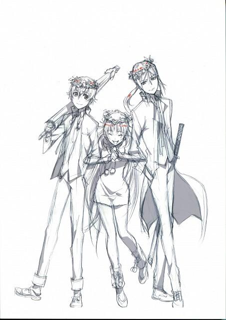 GoHands, K Project, Yashiro Isana, Neko (K Project), Kuroh Yatogami