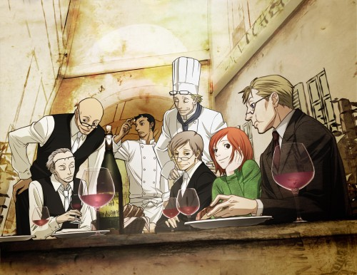 Natsume Ono, David Production, Ristorante Paradiso, Nicoletta, Vito