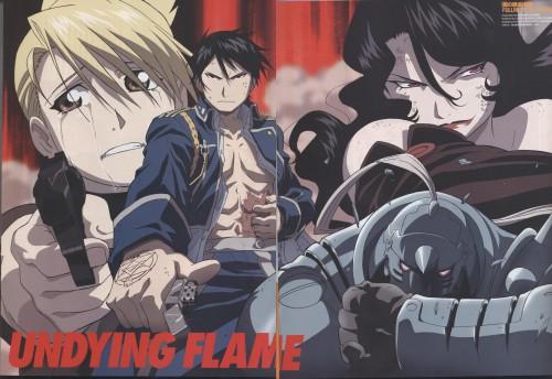Hiromu Arakawa, BONES, Fullmetal Alchemist, Roy Mustang, Lust