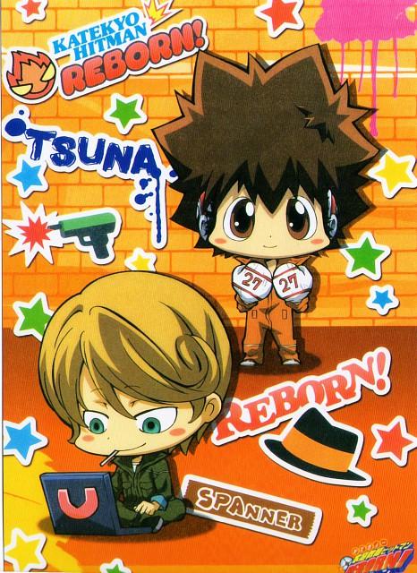 Akira Amano, Katekyo Hitman Reborn!, Tsunayoshi Sawada, Spanner