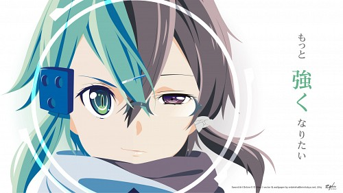 Abec, A-1 Pictures, Sword Art Online, Shino Asada, Sinon Wallpaper