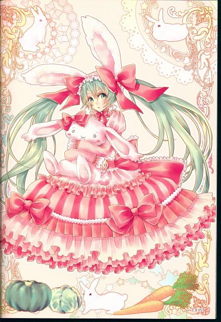 Mameko Sora, Vocalolita, Vocaloid, Miku Hatsune, Doujinshi