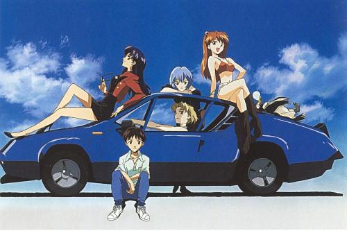 Yoshiyuki Sadamoto, Gainax, Neon Genesis Evangelion, Die Sterne, Ritsuko Akagi