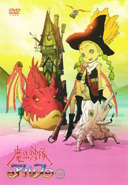 Keita Amemiya, Studio 4°C, Mahou Shoujo Tai Alice, Eva (Mahou Shoujo Tai Alice), DVD Cover