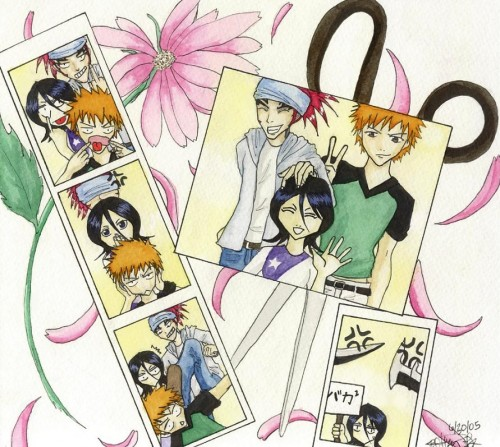 Kubo Tite, Studio Pierrot, Bleach, Rukia Kuchiki, Ichigo Kurosaki