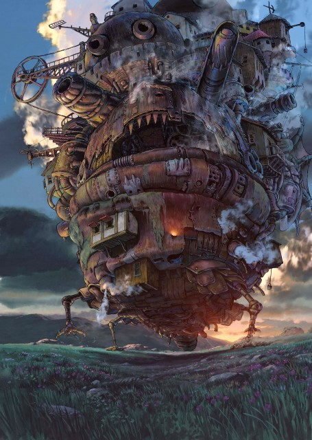 Kazuo Oga, Studio Ghibli, Howl's Moving Castle
