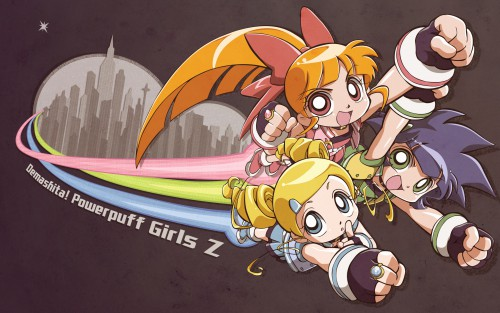 Powerpuff Girls Z Wallpaper