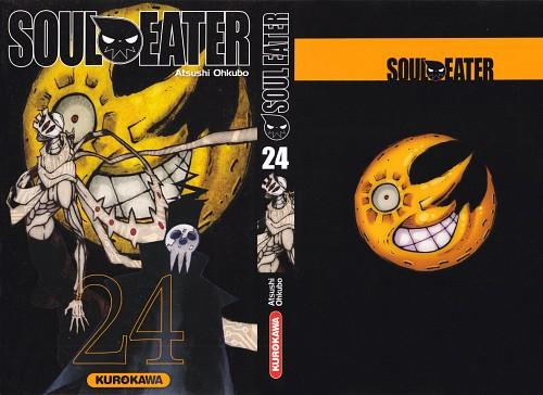 Atsushi Okubo, Soul Eater, Shinigami-sama, Asura (Soul Eater), Manga Cover
