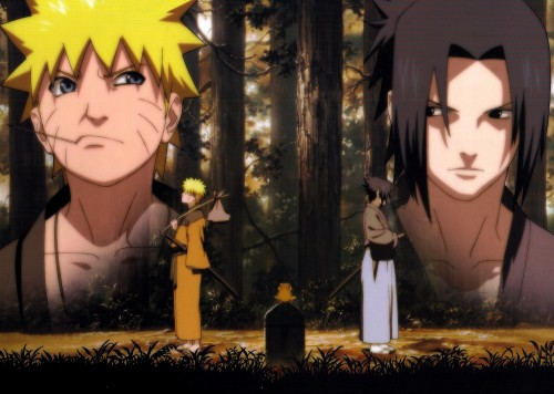 Studio Pierrot, Naruto, Gamakichi, Sasuke Uchiha, Naruto Uzumaki