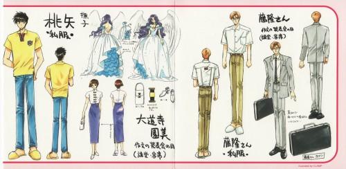 CLAMP, Cardcaptor Sakura, Fujitaka Kinomoto, Nadeshiko Kinomoto, Touya Kinomoto