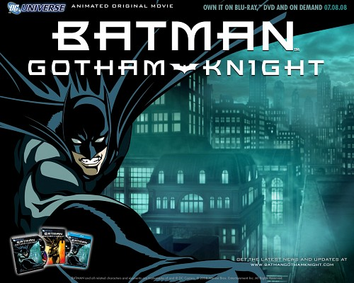 Batman: Gotham Knight, Batman, Official Wallpaper
