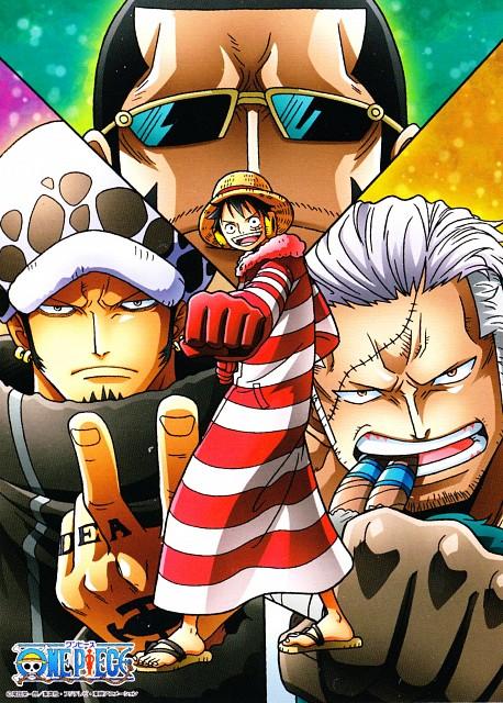 Eiichiro Oda, Toei Animation, One Piece, Smoker (One Piece), Vergo