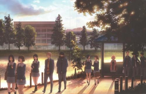 Kyoto Animation, Kyoukai no Kanata, Akihito Kanbara, Mirai Kuriyama, Hiroomi Nase