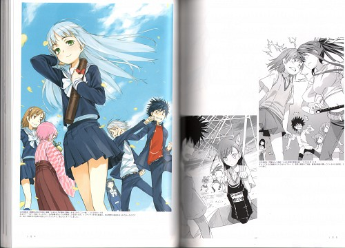 J.C. Staff, To Aru Majutsu no Index, Rainbow Spectrum: Colors, Index Librorvm Prohibitorvm, Accelerator