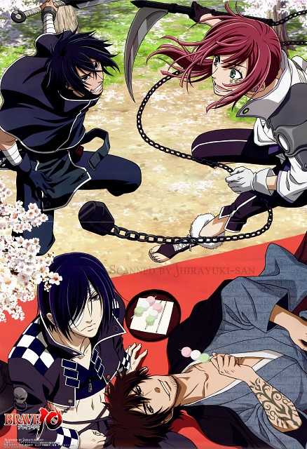 Kairi Shimotsuki, Studio Sakimakura, Brave 10, Rokuro Unno, Yukimura Sanada (Brave 10)
