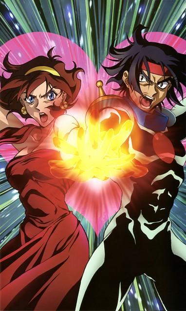 Mobile Fighter G Gundam, Gundam Perfect Files, Domon Kasshu, Rain Mikamura