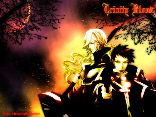 Gonzo, Trinity Blood, Hugue De Watteau, Tres Iqus Wallpaper