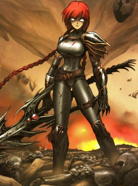 Dragon Arms: Chaos Blade, Manga Cover