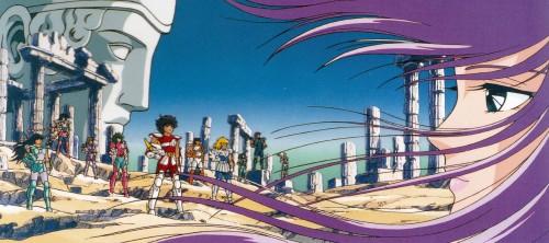 Masami Kurumada, Toei Animation, Saint Seiya, Lionet Ban, Andromeda Shun