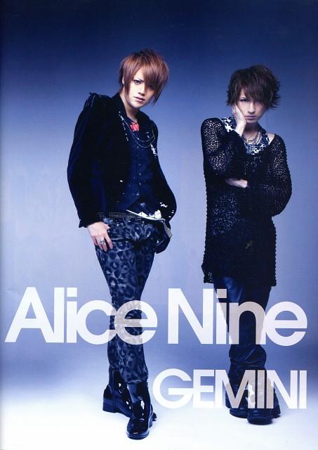Shou, Saga (J-Pop Idol), Alice Nine