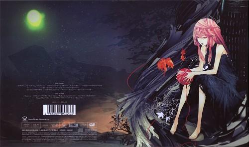 redjuice, Production I.G, GUILTY CROWN, Inori Yuzuriha, DVD Cover