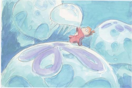 Hayao Miyazaki, Studio Ghibli, Gake no Ue no Ponyo, The Art of - Ponyo, Ponyo