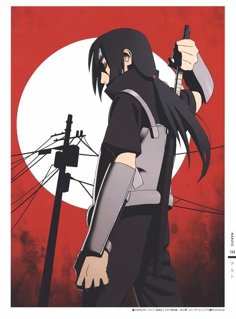 Naruto, The Art of Tetsuya Nishio: Full Spectrum, Itachi Uchiha