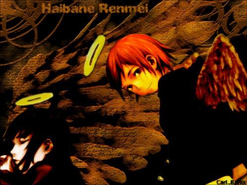 Yoshitoshi Abe, Radix, Haibane Renmei, Reki (Haibane Renmei), Rakka Wallpaper