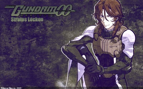 Sunrise (Studio), Mobile Suit Gundam 00, Lockon Stratos Wallpaper
