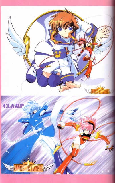CLAMP, Angelic Layer, Wizard (Angelic Layer), Hikaru (Angelic Layer), Misaki Suzuhara