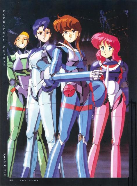 Anime International Company, Bubblegum Crisis, Girls - Artbook VI, Sylia Stingray, Priscilla S. Asagiri