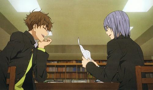 Kyoto Animation, Free!, Natsuya Kirishima, Nao Serizawa