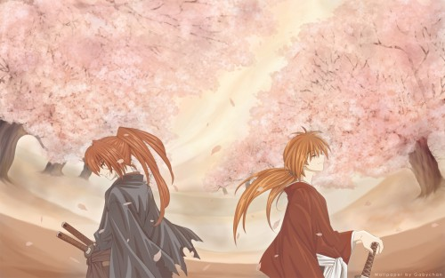 Rurouni Kenshin, Kenshin Himura, Occupations Wallpaper