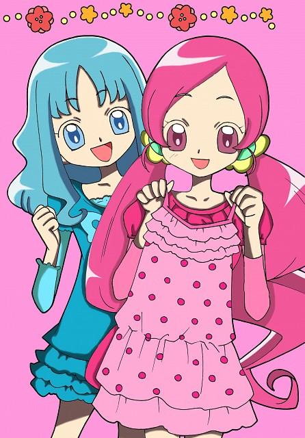 Toei Animation, HeartCatch Precure!, Erika Kurumi, Tsubomi Hanasaki, Colorizations