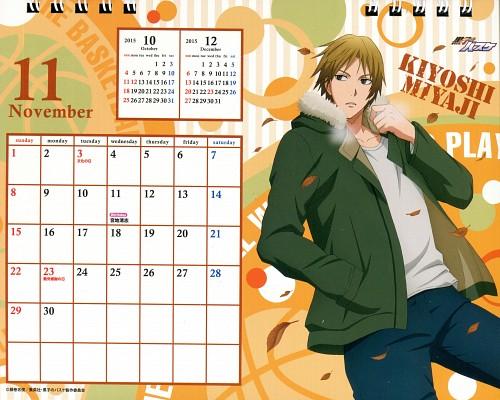 Tadatoshi Fujimaki, Production I.G, Kuroko no Basket, Kuroko No Basket Calendar 2015, Kiyoshi Miyaji