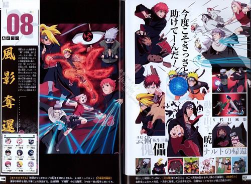 Studio Pierrot, Naruto, Naruto Juunen Hyakunin, Sasori, Naruto Kyuubi Mode