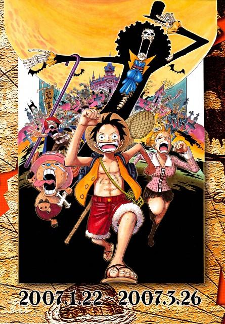 Eiichiro Oda, Toei Animation, One Piece, Color Walk 5 - Shark, Monkey D. Luffy
