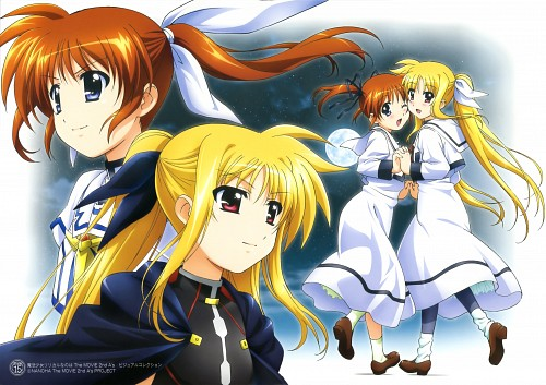 Seven Arcs, Mahou Shoujo Lyrical Nanoha, MSLN The Movie 2nd A's Visual Collection First, Nanoha Takamachi, Fate Testarossa