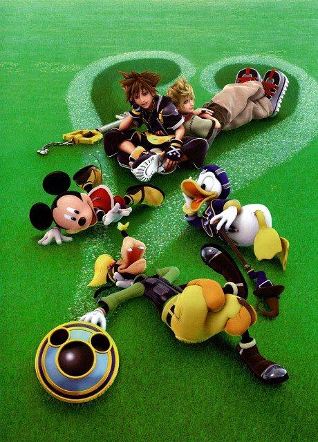 Square Enix, Kingdom Hearts Series Memorial Ultimania, Kingdom Hearts, Sora, Mickey Mouse