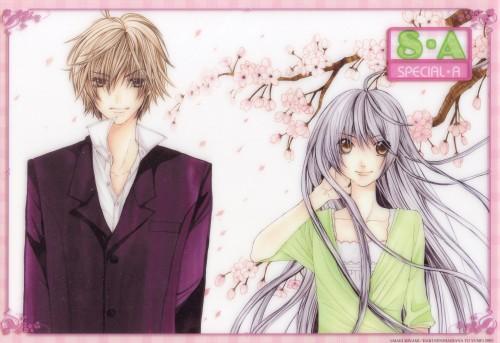 Maki Minami, Special A, Hikari Hanazono, Kei Takishima