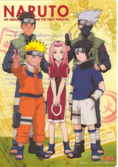 Studio Pierrot, Naruto, Sasuke Uchiha, Sakura Haruno, Kakashi Hatake