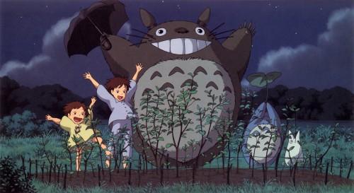 Studio Ghibli, My Neighbor Totoro, Satsuki Kusakabe, Mei Kusakabe, Totoro