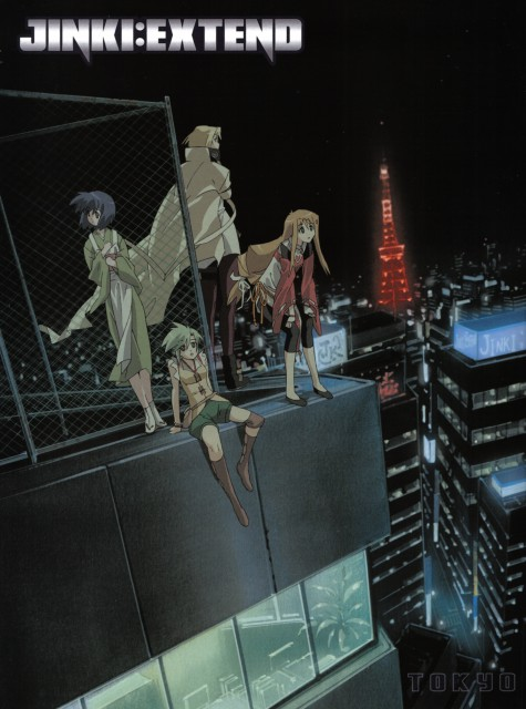 Jinki Extend, Satsuki Kawamoto, Akao Hiiragi, Elnie Tachibana, Mel J. Vanette