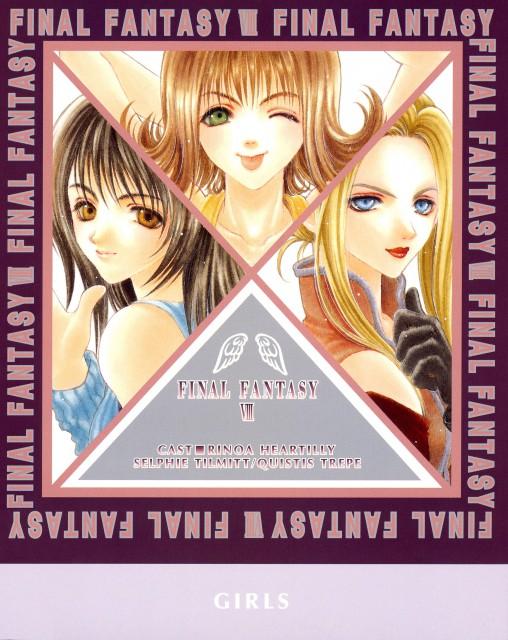 Adumi Tohru, Final Fantasy VIII, Rinoa Heartilly, Selphie Tilmitt, Quistis Trepe