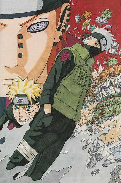 Masashi Kishimoto, Naruto, Kakashi Hatake, Naruto Uzumaki